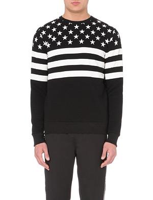 CRIMINAL DAMAGE American flag sweatshirt