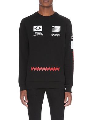 CRIMINAL DAMAGE The Peanuts gang jersey sweatshirt