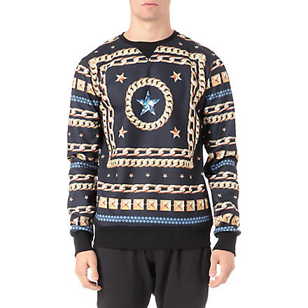 CRIMINAL DAMAGE Flawless sweatshirt (Black/multi