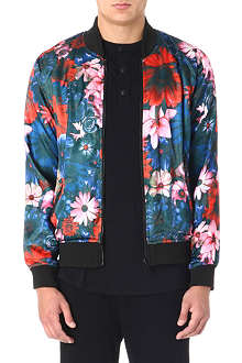 CRIMINAL DAMAGE Friscore Reversible bomber jacket