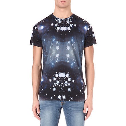 CRIMINAL DAMAGE Galactic t-shirt (Black
