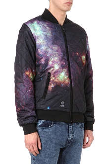 CRIMINAL DAMAGE Galaxy bomber jacket