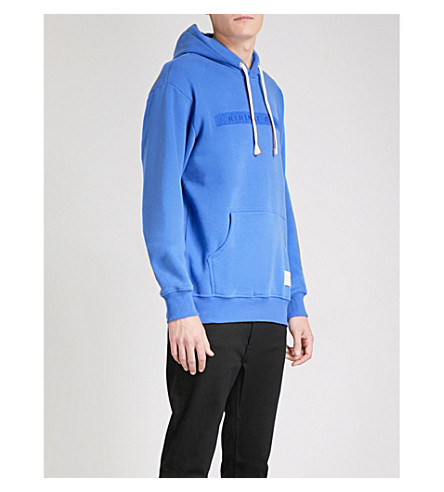 CRIMINAL DAMAGE Hiber jersey hoody (Blue