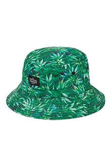 CRIMINAL DAMAGE High Life leaf bucket hat