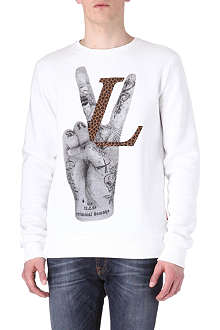 CRIMINAL DAMAGE Love Victory sweatshirt