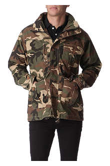 CRIMINAL DAMAGE Niagro camouflage jacket