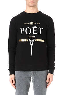 CRIMINAL DAMAGE Poet cotton sweatshirt