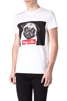 CRIMINAL DAMAGE Pug Life t-shirt