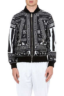 CRIMINAL DAMAGE Script bomber jacket