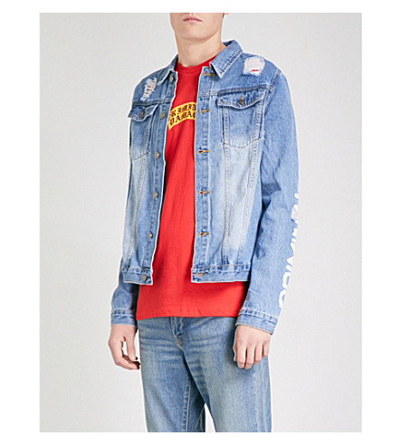 CRIMINAL DAMAGE Shacklewell denim jacket (Blue
