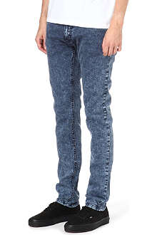 CRIMINAL DAMAGE Acid wash skinny jeans