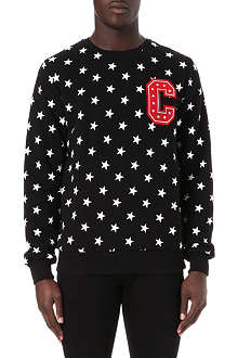CRIMINAL DAMAGE All over stars sweatshirt