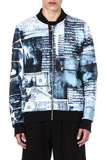 CRIMINAL DAMAGE Streets Dollar bomber jacket