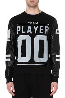CRIMINAL DAMAGE Team player sweatshirt