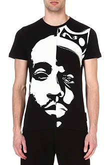 CRIMINAL DAMAGE Tupac biggie t-shirt