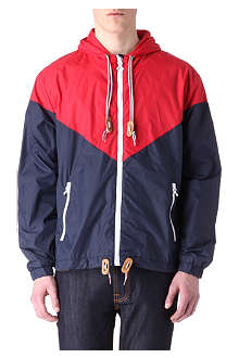 CRIMINAL DAMAGE Colour-block windbreaker jacket