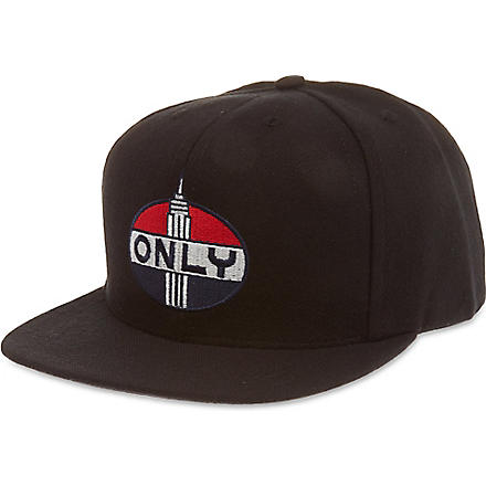 ONLY NY Empire snapback cap (Black