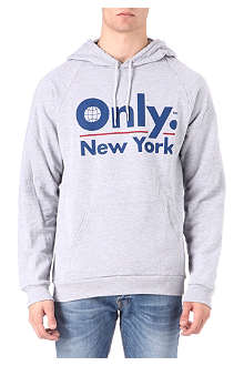 ONLY NY Global logo hoody