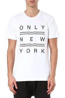 ONLY NY Double Line New York t-shirt