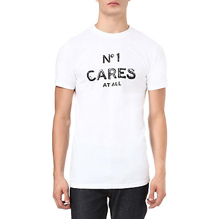 REASON No.1 Cares At All t-shirt (White