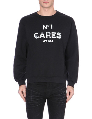 REASON N°1 Cares jersey sweatshirt