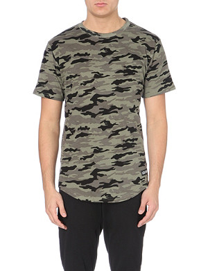 LES (ART)ISTS Margiela 57 camo-print cotton-jersey t-shirt