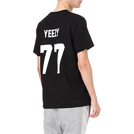 LES (ART)ISTS Yeezy 77 t-shirt (Black