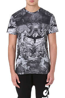 ELEVEN PARIS Printed cotton t-shirt