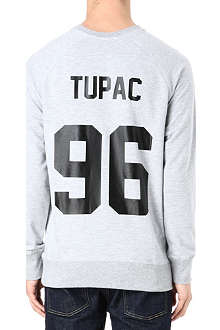 ELEVEN PARIS Tupac stretch-jersey sweatshirt
