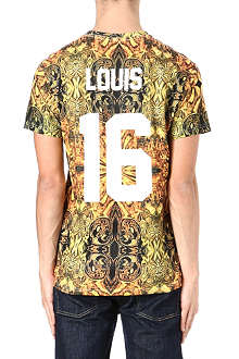 ELEVEN PARIS Louis 16th printed t-shirt