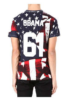 ELEVEN PARIS Obama printed t-shirt