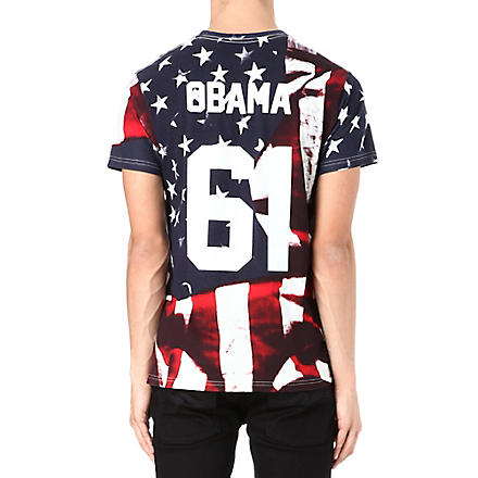 ELEVEN PARIS Obama printed t-shirt (Flag