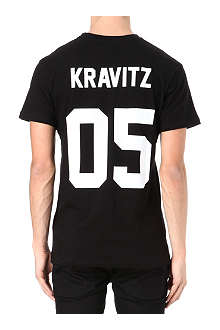 ELEVEN PARIS Kravitz cotton-jersey t-shirt