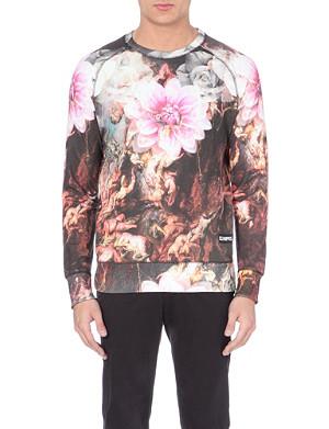 ELEVEN PARIS Kendrick 87 mural-print sweatshirt