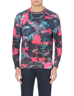 ELEVEN PARIS Williams 73 camo-print sweatshirt