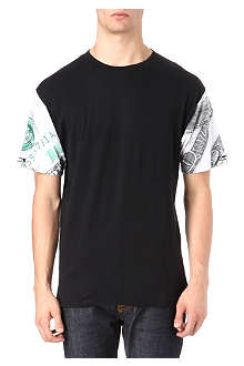 CROOKS AND CASTLES Benjies sleeve t-shirt