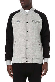 CROOKS AND CASTLES Ballin baseball bomber jacket