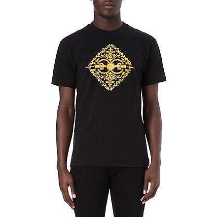 CROOKS AND CASTLES Sultan print t-shirt (Black