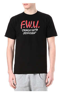 CROOKS AND CASTLES FWU Crooksville t-shirt