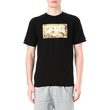 CROOKS AND CASTLES Coin graphic t-shirt (Black
