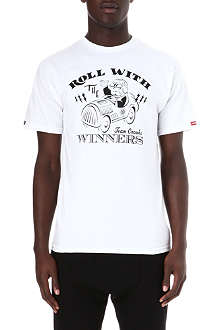 CROOKS AND CASTLES Monopoly roll with winners t-shirt