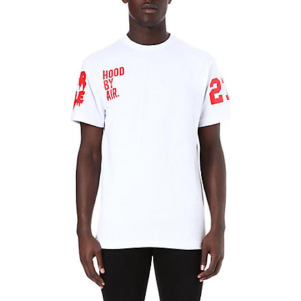 HOOD BY AIR Been Trill classic t-shirt (White/red