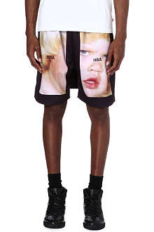 HOOD BY AIR Printed shorts with flap