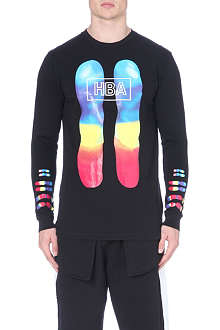 HOOD BY AIR Colour chromosomes t-shirt