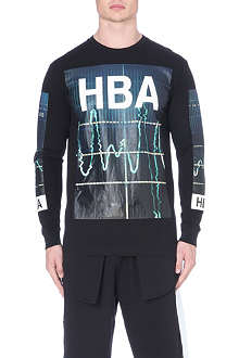 HOOD BY AIR Colour monitor long sleeved t-shirt