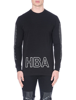 HOOD BY AIR Layered logo top