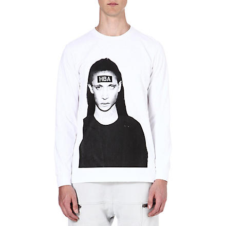HOOD BY AIR Morph cotton top (White
