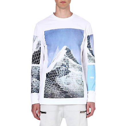 HOOD BY AIR Paramount long-sleeved top (White