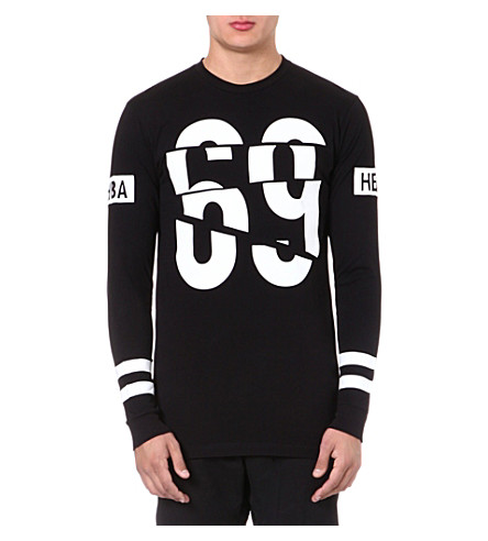 HOOD BY AIR 69 long-sleeved top (Black