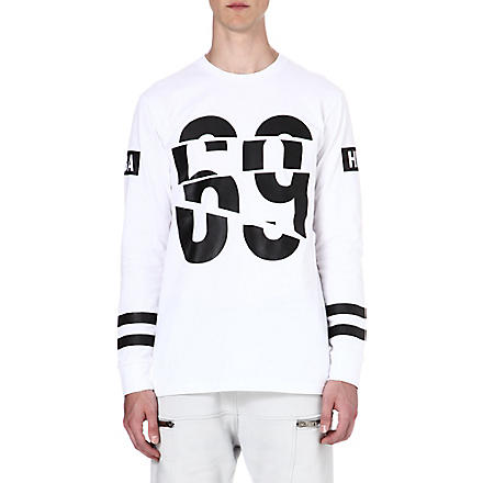HOOD BY AIR 69 long-sleeved top (White